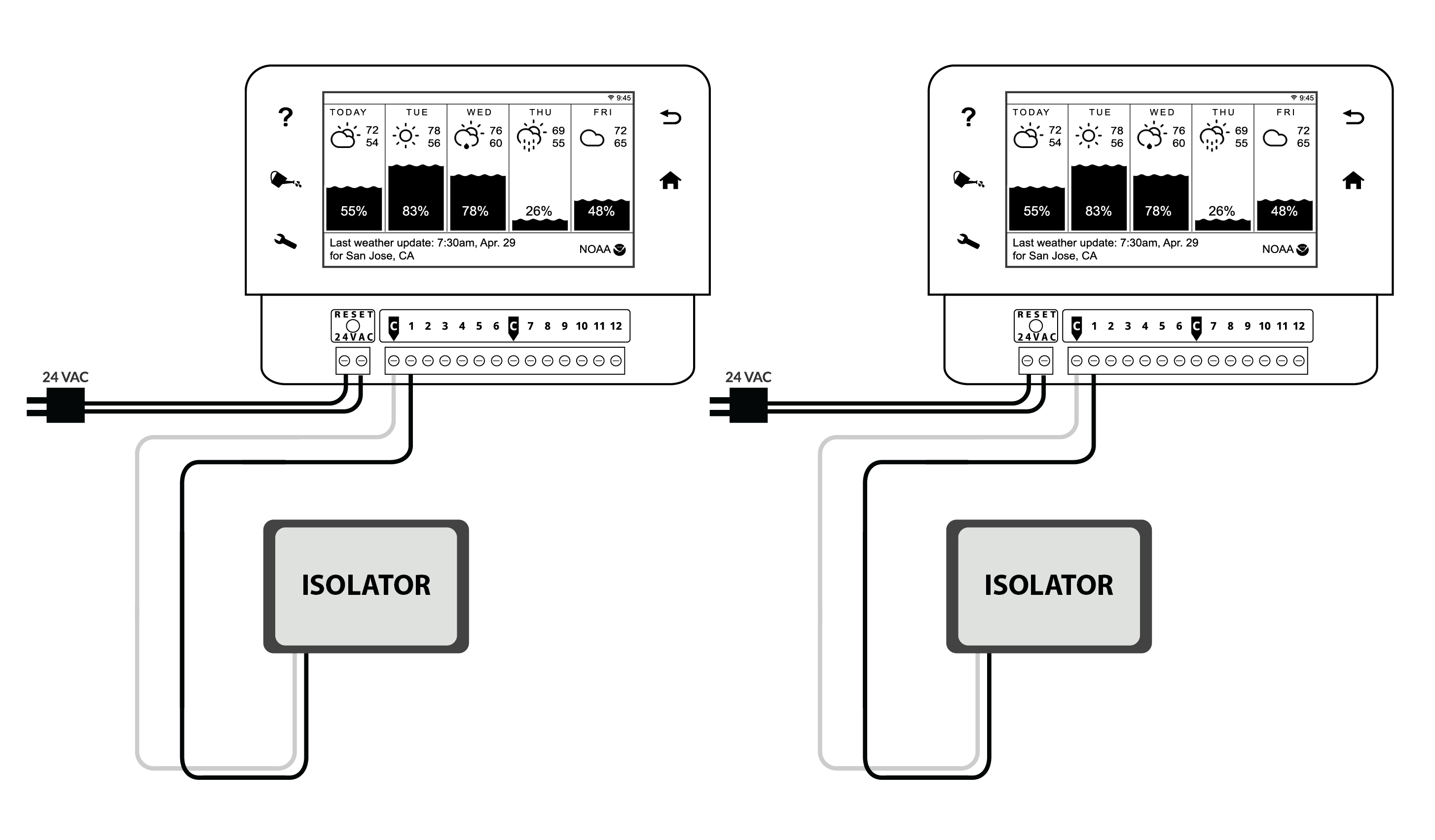 irrigation pump relay wiring diagram