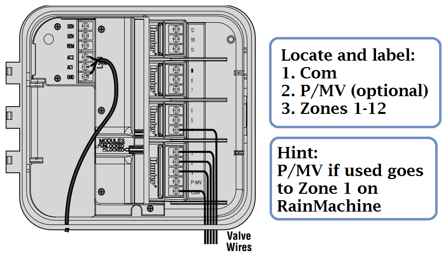 Hunter Rain replacing hunter pro c with rainmachine rainmachine hunter icc wiring diagram at readyjetset.co